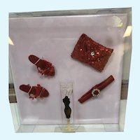 MIB Red Holiday Accessory Set by Robert Tonner