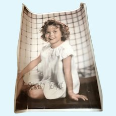 Vintage Shirley Temple Photo That Came with Doll Purchase