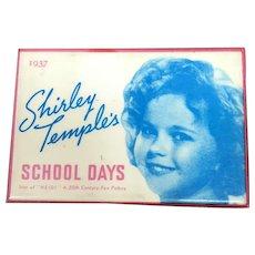 Shirley Temple School Days Mirror