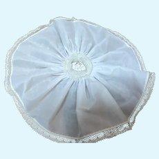 Madame Alexander Cissette White Slip