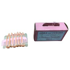 Madame Alexander Comb and Curlers Box