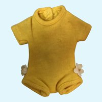Madame Alexander-kin Yellow Body Suit