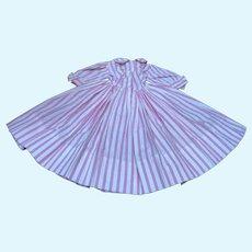 Madame Alexander Cissy Candy Striped 1956 Dress