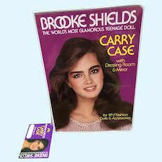 Brooke Shields Carry Case with Original Hang Tag