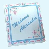 Madame Alexander Mini Booklet for Walker Dolls