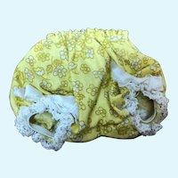 Madame Alexander Alexander-Kin Yellow Flower Print Panties