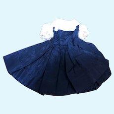 Madame Alexander Cissette Navy Blue and Pink Dress