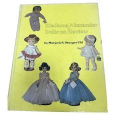 Madame Alexander Dolls on Review Book
