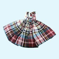 Miss Ginger Plaid Dress