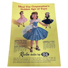 Ideal Toy Corporation's Golden Ag of Toys Brochure