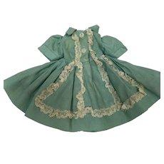 Madame Alexander Cissette Dress with Lace Apron Front