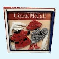 MIP Linda McCall Linda's Red Raincoat Outfit