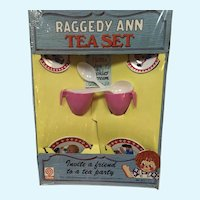 MIB Raggedy Ann Tea Set by Chein Play Things