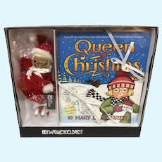 MIB Mary Engelbreit 8 Inch Queen of Christmas Doll and Book