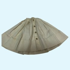 Madame Alexander Cissy White Nautical Skirt