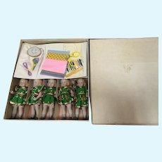 MIB Dionne Quint 10th Anniversary Collectors Set 1979 - 1989