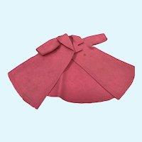 Madame Alexander Cissy Pink Felt Coat