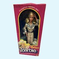 MIB Western Barbie Doll