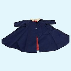Madame Alexander Navy Blue Coat for 25 Inch Tall Doll