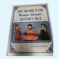 Rare and Hard to Find Madame Alexander Collector's Dolls Book