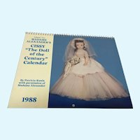 "Cissy ""The Doll of the Century Calendar - Volume Two"