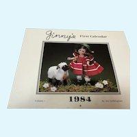 Ginny's First Calendar - 1984 - by Sue Nettleingham