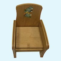 Strombecker Potty Chair for Ginnette or 8 Inch dolls