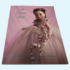 A Certain Style Auction Catalog of Madame Alexander Dolls