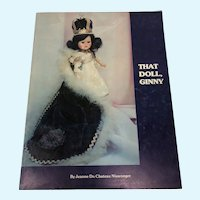 That Doll, Ginny Book by Jeanne Du Chateau Niswonger