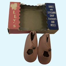 MIP Pink Center Snap Shoes for 18 Inch Dolls