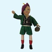 Tiny Town Dolls Swiss Boy