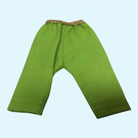 Madame Alexander 8 Inch Maggie Lime Green Pants