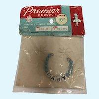 """MIP Premier Blue """"Baby"""" Necklace"""