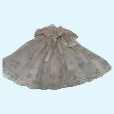 Madame Alexander Elise Pink Flocked Flower Print Robe