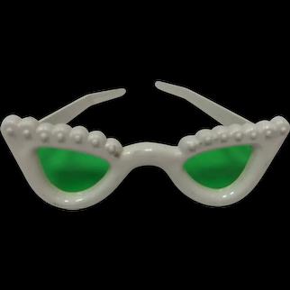 Vintage White Sun Glasses for Cissy or Terri Lee