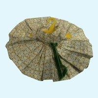 Madame Alexander Cissette  Green and Yellow Flower Print Dress