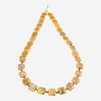 Beautiful Freshwater Square Shape Loose  Yellow   Cultured Pearl