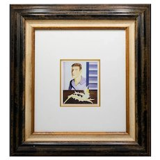 Lucian Freud  Original Limited Edition Offset Lithograph With Certificate Of Authenticity