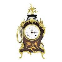 Vintage Very Rare Franz Hermle Boulle Gilt Ormolu clock