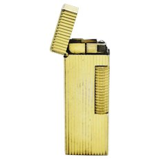 Vintage Swiss Rollagas Gold Plated Dunhill Lighter