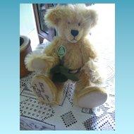 Hermann Golden Mohair Teddy Bear in Paradise Limited Edition