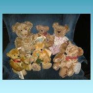 Stieff Delighted Mohair Bear Anniversary of Margaret Stieffs Birth