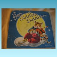 Wonderful Old Nursery Rhyme Pop Up Hey Diddle Diddle Card