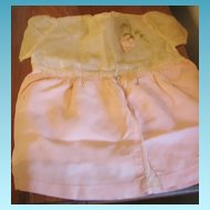 Vintage Doll Dress for Doll or Bear in Peachy-Pink