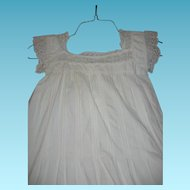 Lovely Summer Antique Ladies Night Gown Victorian Era