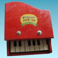 Vintage Toy Piano for Doll or Bear