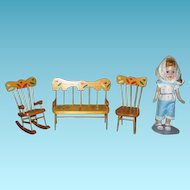 Ginny Doll Size Furniture from Lancaster Co Pa