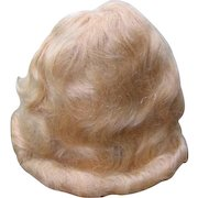NOS Mohair Doll Wigs Never Used Blonde Mohair Wigs & Brunette