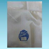 Vintage Damask Tablecloth with Original Label