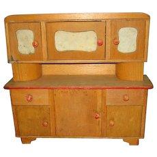 Vintage Handmade One of A Kind Hoosier Cabinet or Cupboard